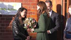 Right Now: Kate Middleton Visits Family Action Charity in Lewisham, England [Video]
