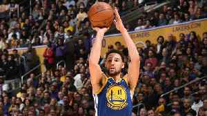 Warriors Klay Thompson Continues Recent Tear Tying NBA Record With 10 Straight 3-pointers [Video]