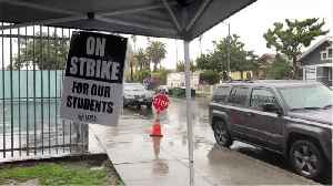 News video: Los Angeles Schools Disrupted For Sixth Day In Teachers Strike