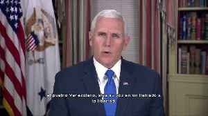 Pence to Venezuelans: 'Maduro is a dictator' [Video]