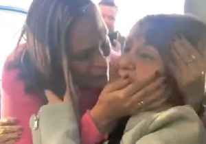 Heartwarming Moment as Venezuelan Great-Grandmother Is Reunited With Family in US [Video]