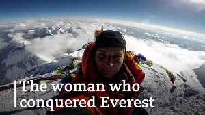 The woman who conquered Everest [Video]