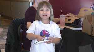 Taco Bell-Obsessed Viral Star Treated to 5th Birthday Party at Her Favorite Restaurant [Video]