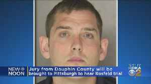 Jury For Michael Rosfeld Trial To Come From Dauphin County [Video]
