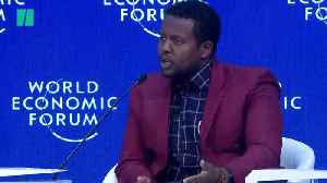 Refugee Asks Davos Elite To Do More To Help [Video]