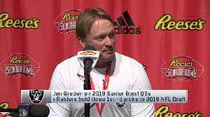 Oakland Raiders head coach Jon Gruden: Oklahoma Sooners quarterback Kyler Murray makes me throw out 'all the prototypes I once h [Video]