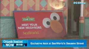 SeaWorld gives first look of Sesame Street land on media tour [Video]