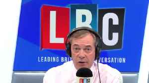 Nigel Farage Gives His Verdict On Dyson's Move To Singapore [Video]