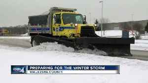 Waukesha County preparing for the winter storm [Video]