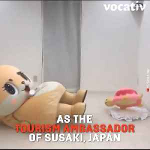 Japanese City Fires its Adorable Mascot over Questionable and Hilarious Antics [Video]