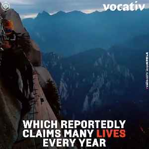 China's Mount Huashan Offers One Of the Most Dangerous Treks In the World [Video]