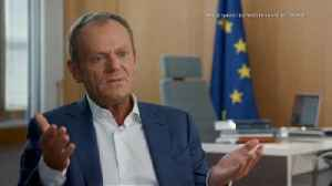 Raw Moment: Tusk claims former UK PM Cameron is 'victim of his own victory' [Video]