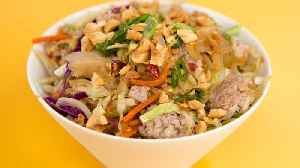 How to Make a Keto Egg Roll Bowl [Video]