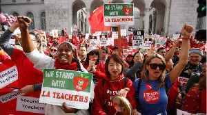 News video: LA Teachers Union Reaches Deal With District Over Strike