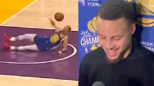 Steph Curry REACTS To Hilarious Dunk Attempt FAIL & AIRBALLED Three-Pointer! [Video]