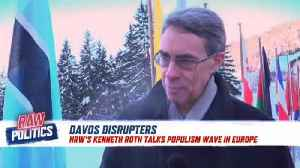 Raw Politics: HRW Director Kenneth Roth uses Davos as platform for human rights advocacy [Video]