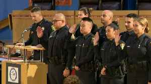 WEB EXTRA: Swearing In Ceremony for New Miami-Dade Schools Police Department [Video]