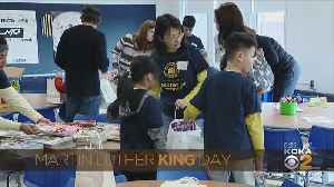 Shady Side Academy Volunteers On MLK Day [Video]