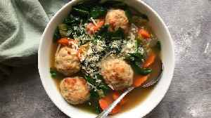 Chicken Meatball and Vegetable Soup LIVE [Video]