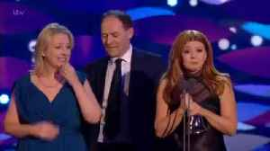 Sian Gibson Thanks Peter Kay During NTA's Win Speech [Video]