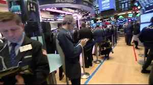 News video: Wall Street snaps four-sesson rally