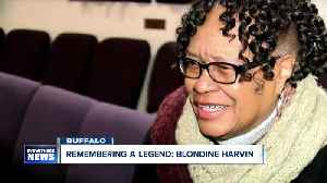 Family and friends remember Blondine Harvin of