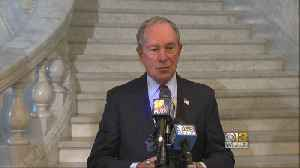 News video: Michael Bloomberg Offers Md. Lawmakers Perspective On Gun Laws