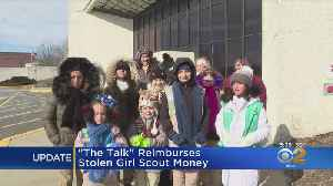'The Talk' Helps Out Girl Scout Troop That Had Funds Stolen [Video]