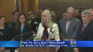 Pam Bondi Heads To DC [Video]