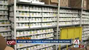 Families impacted by shutdown turning to food pantries [Video]