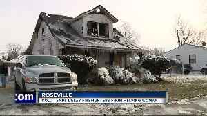 Roseville family literally picking up pieces of their lives after devastating fire [Video]