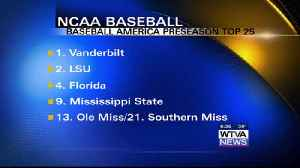 Diamond Dawgs/Rebels earn Top 15 preseason rankings in Baseball America [Video]