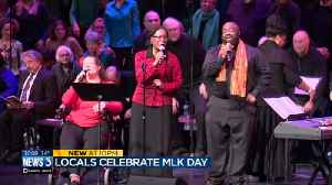 Madisonians honor Martin Luther King Jr. at Overture event [Video]