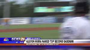 Keston Hiura named top second baseman prospect [Video]