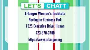 Erlanger Women's Institute for Specialized Health, new location [Video]