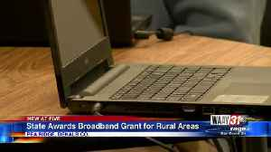 State Awards Broadband Grant for Rural Areas [Video]