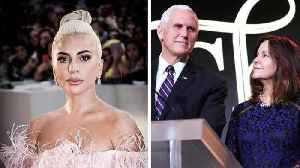 Lady Gaga Calls Vice President Mike Pence 'the Worst Christian' [Video]