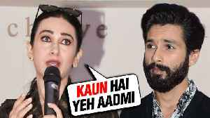 Shahid Kapoor REVEALS Why Karisma Kapoor Was FRUSTRATED With Him [Video]