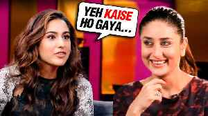 Sara Ali Khan UNBELIEVABLE REACTION On Kareena Kapoor Khan Being Her StepMom [Video]