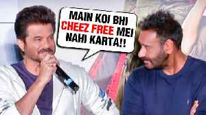 Ajay Devgn And Anil Kapoor TROLL Media Reporter | FUNNY VIDEO | Total Dhamaal Trailer Launch [Video]