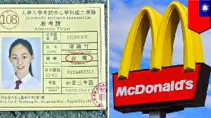 Taiwan McDonald's ad angers China for some strange reason [Video]