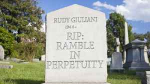 Rudy Giuliani's Gravestone: The Rough Drafts [Video]