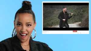 Tinashe Watches Fan Covers on YouTube [Video]