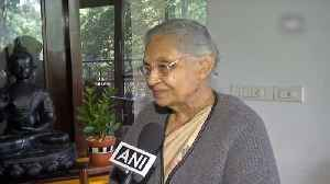 Priyanka Gandhi is a mature and knowledgeable woman: Sheila Dikshit [Video]