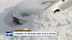 Lakewood issuing warnings, then tickets to owners of snow-covered cars on city streets [Video]
