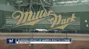 Miller Park name change could cost team $1 million [Video]