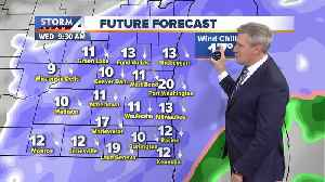 Snow continues through Wednesday afternoon [Video]