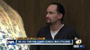 No jail time for Campo school bus attacker [Video]