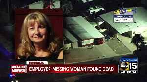 Missing Mesa woman found dead [Video]