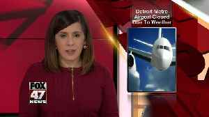 Detroit Metro Airport closed; flights affected by weather [Video]